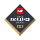 Triple Excellence Award Badge