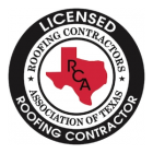 Licenced Roofing Contractors Association Of Texas Badge